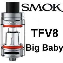 Smoktech TFV8 Big Baby clearomizer Silver