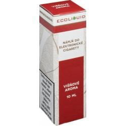 Liquid Ecoliquid Cherry 10ml - 6mg (Višeň)