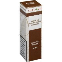Liquid Ecoliquid Coffee 10ml - 3mg (Káva)