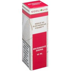 Liquid Ecoliquid Cranberry 10ml - 3mg (Brusinka)