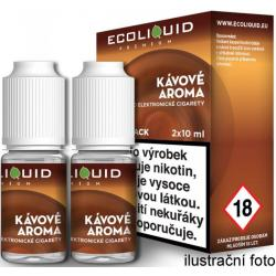 Liquid Ecoliquid Premium 2Pack Coffee 2x10ml - 0mg (Káva)