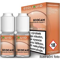 Liquid Ecoliquid Premium 2Pack ECOCAM 2x10ml - 0mg