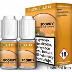 Liquid Ecoliquid Premium 2Pack ECORUY 2x10ml - 6mg
