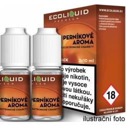 Liquid Ecoliquid Premium 2Pack Gingerbread tobacco 2x10ml - 6mg (Perníkový tabák)