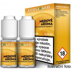 Liquid Ecoliquid Premium 2Pack Honey 2x10ml - 18mg (Med)