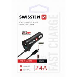 SWISSTEN CL ADAPTER QC 3.0, 2 x USB, 3A, 18W