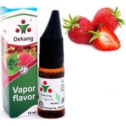 Liquid Dekang SILVER Strawberry 10ml - 0mg (Jahoda)