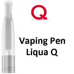 Liqua Q Vaping Pen clearomizer 2ohm 2ml Clear