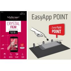 EASY APP POINT SERVIS PACK 5 ks OCHRANNÝCH FÓLIÍ NA DISPLEJ MYSCREEN CRYSTAL SAMSUNG i8190 GALAXY SIII (S3) MINI